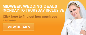 Cheap wedding Car Deals For Midweek Weddings